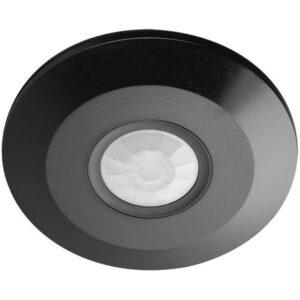 Αισθητήρας Κίνησης Οροφής Μαύρος Λεπτός