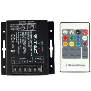 controller-RGB-tainia-RF-control-SYNC-UTP-kalwdio-v-tac