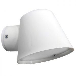 φωτιστικό απλίκα εξωτερικού χώρου πλαστικό c-09 άσπρο