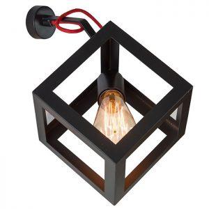 φωτιστικό απλίκα κύβος
