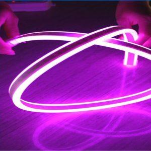 led neon flex 220v μωβ dimmable