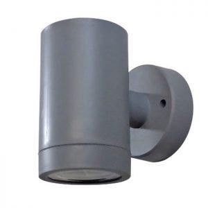 φωτιστικό τοίχου εξωτερικού χώρου πλαστικό c-01 γκρί