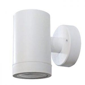 φωτιστικό τοίχου εξωτερικού χώρου πλαστικό c-01 άσπρο