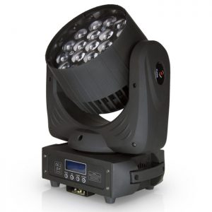 led moving head wash 19x15w rgbw 4in1 zoom