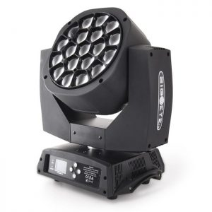 led big-eye kaleidoscope moving head 19x15w