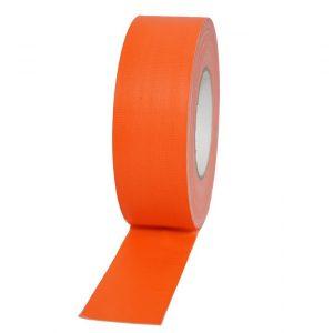 ταινία-gaffer 50x50mm φωσφοριζέ πορτοκαλί