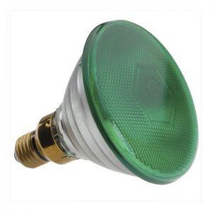 Λαμπτήρας PAR38 10W Σκληρού Υάλου Πράσινη