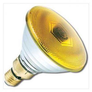 Λάμπα Led PAR38 E27 10W Κίτρινη ACA