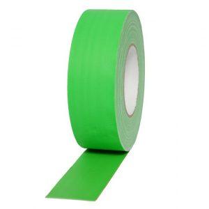 ταινία-gaffer 50x50mm φωσφοριζέ πράσινη