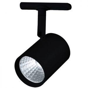 φωτιστικό τριφασικής ράγας για σπότ GU10 μάυρο