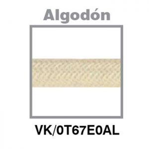 Υφασμάτινο καλώδιο ALGODON (βαμβάκι) 3x0.75mm²