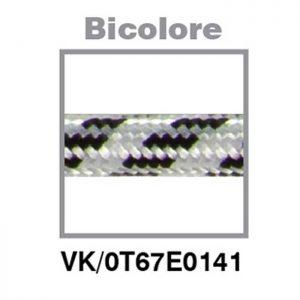 Υφασμάτινο καλώδιο BICOLORE (δίχρωμο) 3x0.75mm²