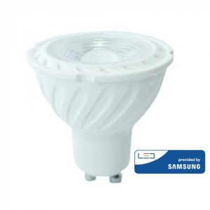 Βαση σποτ gu10 led 6.5w samsung chip