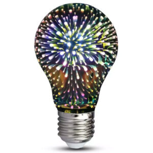 Λάμπα Led E27 3W A60 3D Special Art Filament