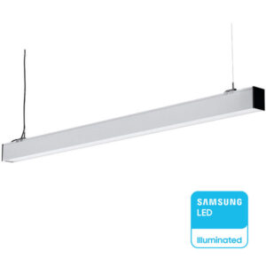Κρεμαστό Γραμμικό Φωτιστικό 40W Samsung Chip Φυσικό Λευκό