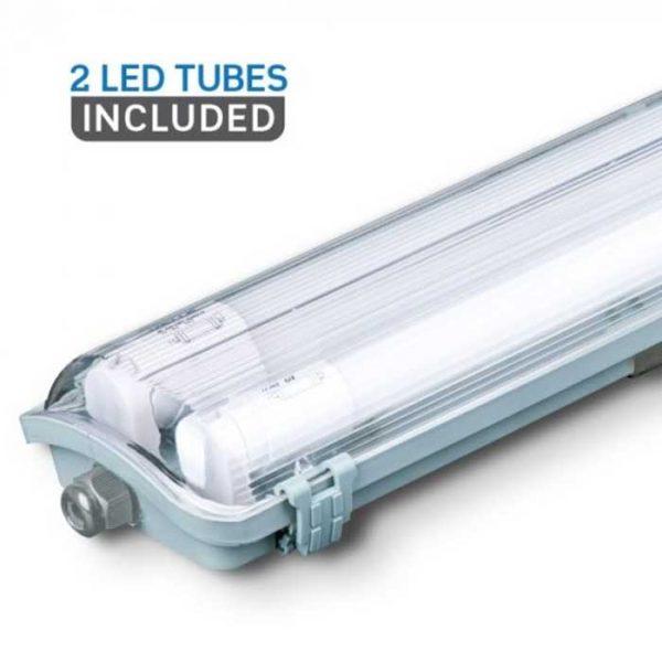 Αδιάβροχο Φωτιστικό LED 2x22W Φυσικό Λευκό
