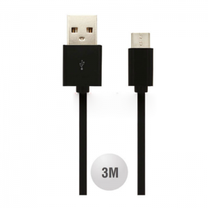 Kαλώδιο Micro Usb 3m Μαύρο