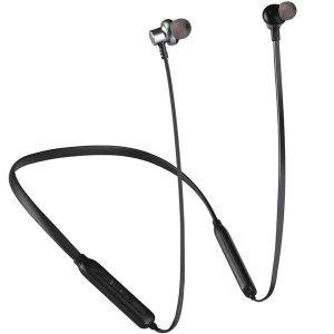 Ακουστικα περιλαίμιου με μαγνήτη και Bluetooth μαυρο