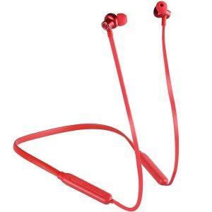 Ακουστικα περιλαίμιου με μαγνήτη και Bluetooth κόκκινο
