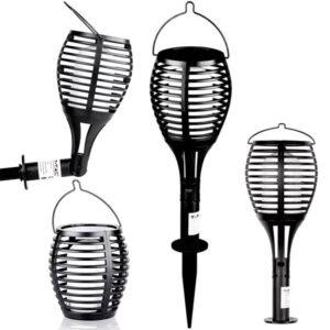 Ηλιακό Φωτιστικό LED με Εφέ Φλόγας