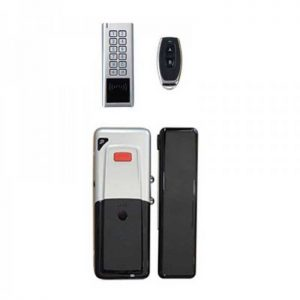 D4 KIT ασυρματο κλείδωμα για Γυαλινη Πορτα