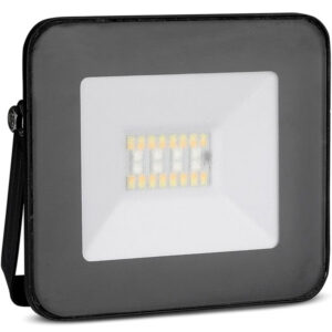 Προβολέας Led 20W με Bluetooth Μαύρο Σώμα RGB+ Ψυχρό Λευκό