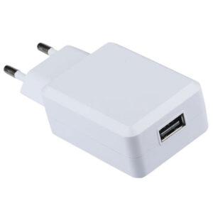 Φορτιστής - Αντάπτορας Ταξιδιού USB QC 3.0 Άσπρος