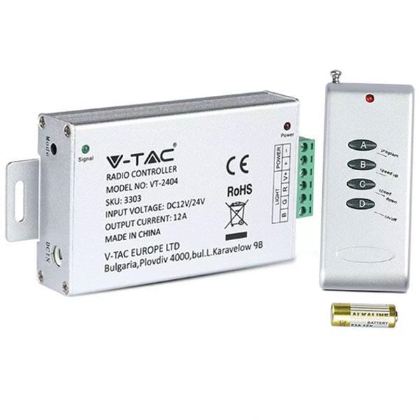 Controller-Dimmer-RGB-144W-v-tac