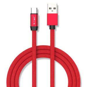 Καλώδιο USB-Type C 1m Κόκκινο Ruby Series 8631Καλώδιο USB-Type C 1m Κόκκινο Ruby Series