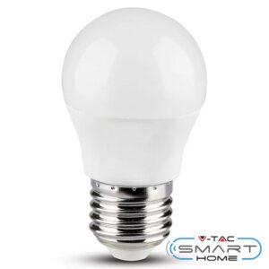 Λάμπα LED E27 G45 4.5W 230V 180° 300lm RGB+Ζεστό+Ψυχρο Λευκό Συμβατή με Amazon Alexa & Google Home 2755 V-TAC