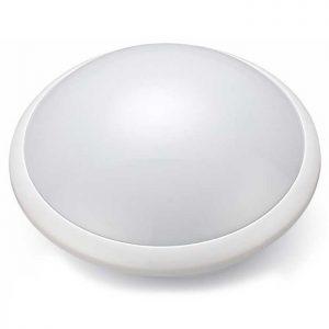 Πλαφονιέρα Oροφής LED E27 Στρογγυλή Με Αισθητήρα Μικροκυμάτων