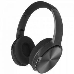 Περιστρεφόμενα Ακουστικά Κεφαλής Ασύρματα με Bluetooth 500mAh Μαύρο
