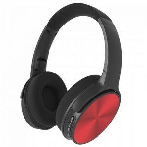 Περιστρεφόμενα Ακουστικά Κεφαλής Ασύρματα με Bluetooth 500mAh Κόκκινο