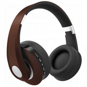 Ρυθμιζόμενα Ακουστικά Κεφαλής Ασύρματα με Bluetooth 500mAh Καφέ