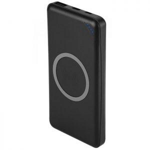PowerBank Aσύρματο 10000mAh με 1 Θύρα USB & Καλώδιο TYPE C Μαύρο