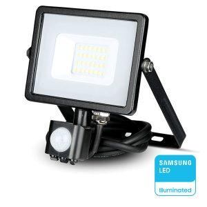 Προβολείς Led Με Αισθητήρα Κίνησης Samsung Chip