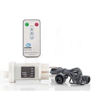 Μετασχηματιστής Για Χριστουγεννιάτικα LED Σε Σειρά Με Επέκταση Με Χειριστήριο & Dimmer IP44