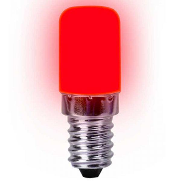 Λάμπα Led Νυκτός E14 2W 230V 270° 130lm IP20 Κόκκινο L1901KΟΚ