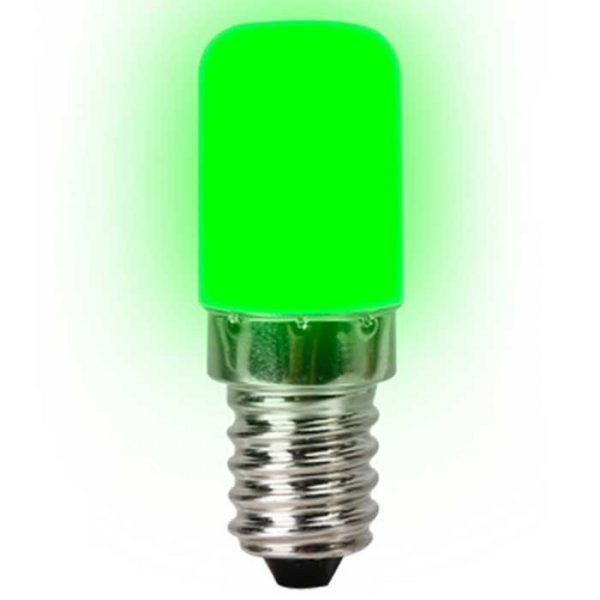 Λάμπα Led Νυκτός E14 2W 230V 270° 130lm IP20 green