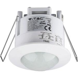 Ανιχνευτής Κίνησης PIR Άσπρος 5090 V-TAC