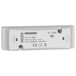 Led-Controller-12-24V-1kanali-wifi-button-master-electric