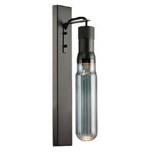 fotistiko-aplika-toixou-GU10-Gyali-Gkri-Smoke-Glass