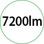 7200lm